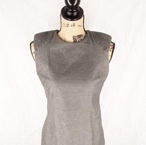 Shift Dress BANANA REPUBLIC Cotton Tweed Stretch